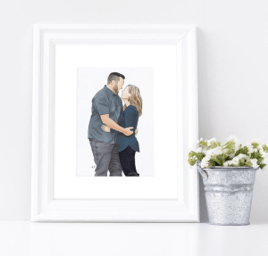 Valentine's Day Gift Guide - Shop Local YXH - art made by andrea