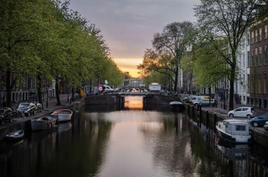 Morning in Amsterdam, Netherlands