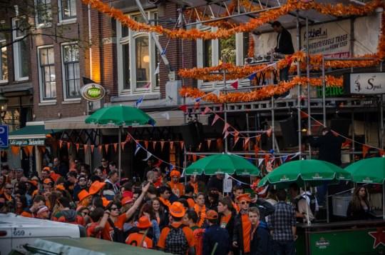 Kingsday 2015, Amsterdam, Netherlands