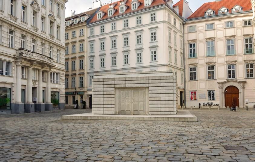 Holocaust Memorial, Judenplatz, Vienna