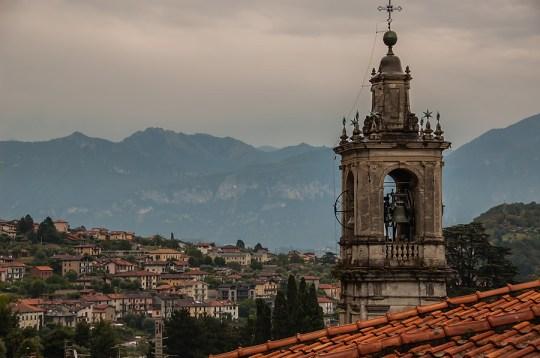 Above Sala Comacina, Lake Como