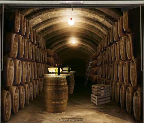 Wine cellar in the garage?