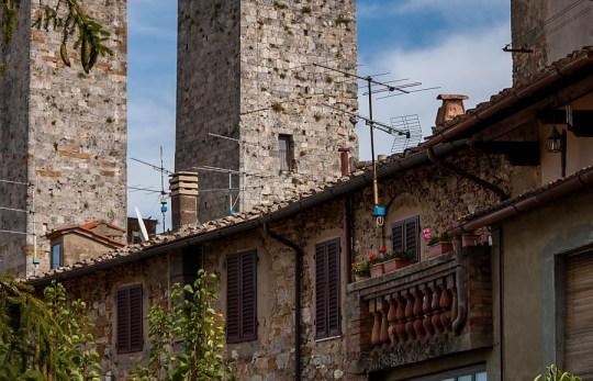 In San Gimignano, Italy