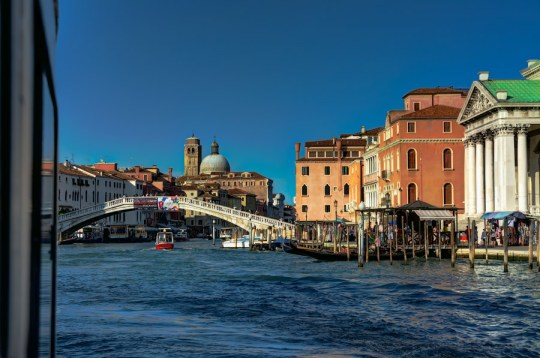 Grand Canal near Scalzi, Venice