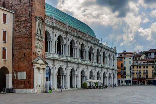 Basilica Palladiana and Piazza dei Signori, Vicenza, Italy