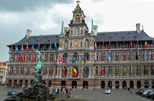 Stadhuis, Antwerp, Belgium