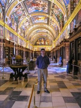 The Library, El Escorial, Spain