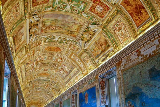 In the Vatican Museums