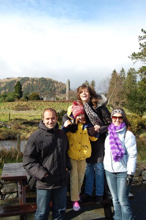 In Glendalough, Ireland