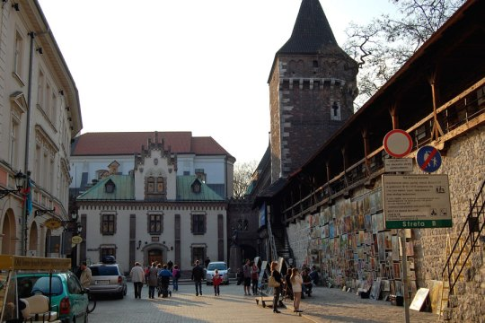 St Florian Gate, Cracow