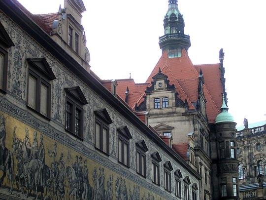 Furstenzug fragment, Dresden