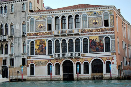 Palazzi on Grand Canal, Venice