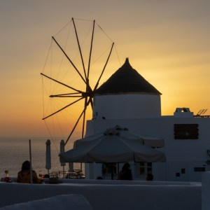 Sunset on Santorini