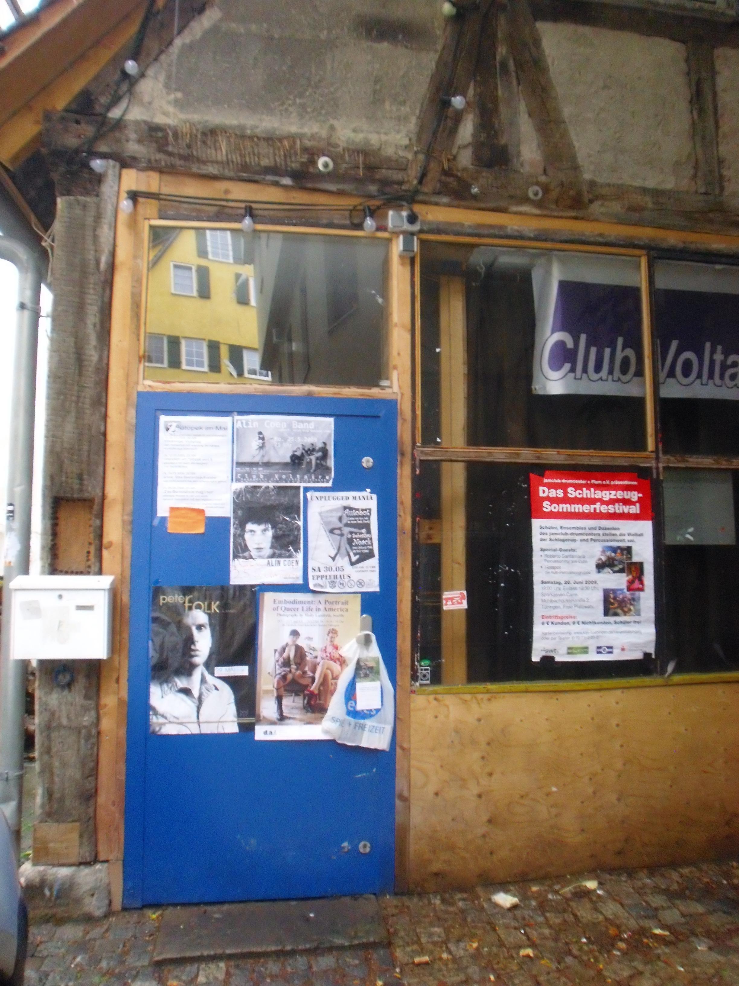 Zatopek im Club Voltaire (Tübingen)