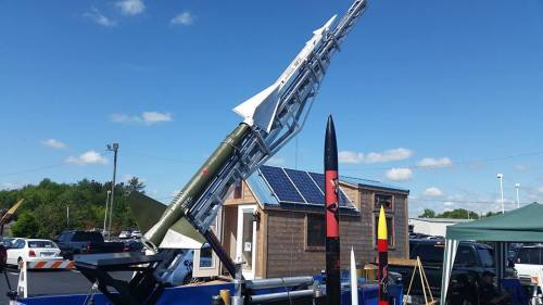NIKE Ajax Rocket Project + Solar Tiny House from TEVA
