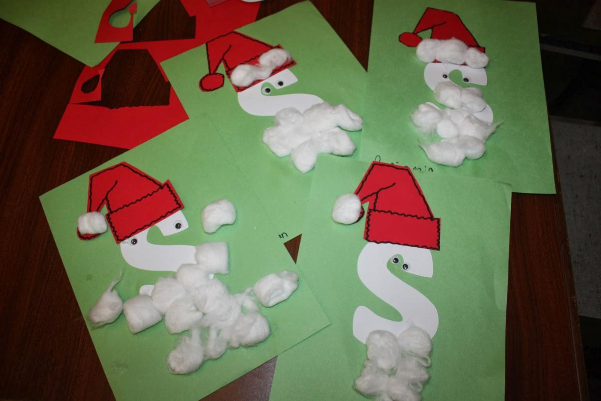 Alphabet Play S Is For Santa Claus