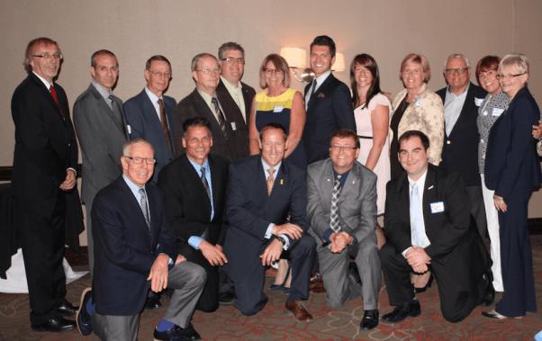 BCA board at Peter MacKay Fundraiser Dinner 2014