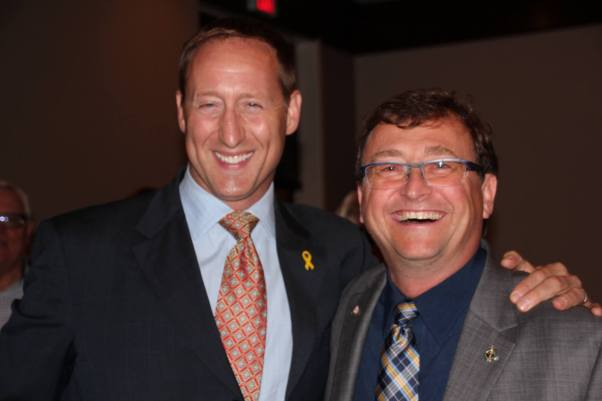 Mike and Peter MacKay in Burlington Fall 2014