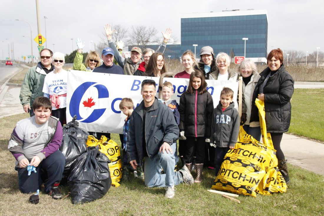 Clean Up Green Up 2014 BCA crew