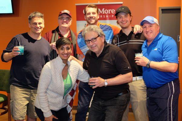2017 Indoor Golf Tournament Fundraiser winning team!