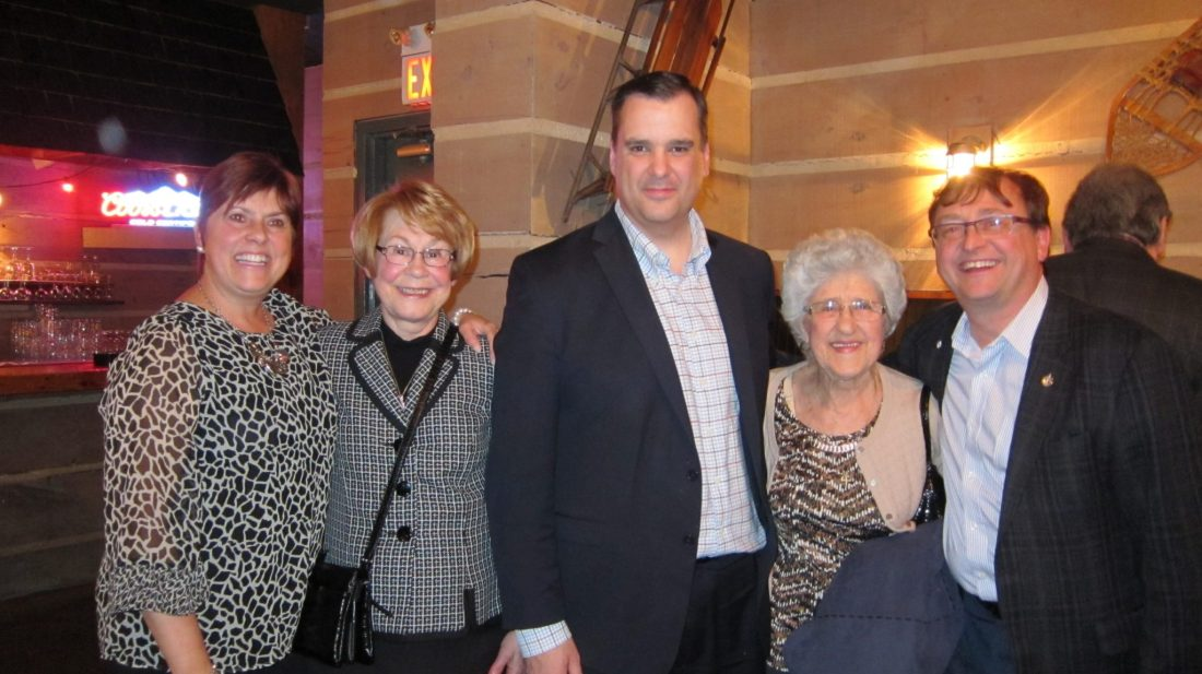 James Moore Meet & Greet in Burlington March 2015