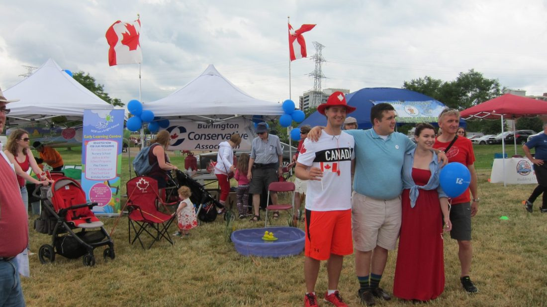 More Canada Day at Spencer Smith Park