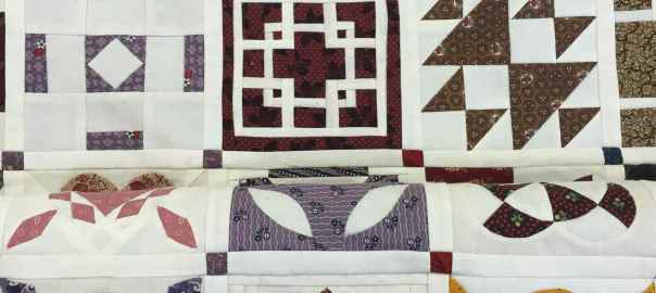 Dear Jane Quilt at Bennington Museum