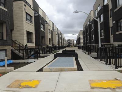 ADI row housing