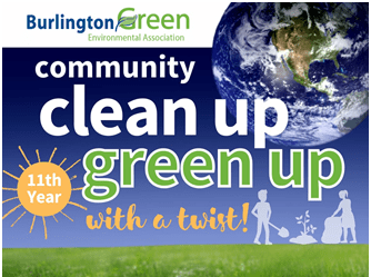 clean up world logo