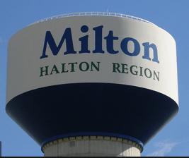 Milton water tower