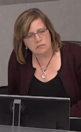 Councillor Stolte looking for a response to her motion - put forward last April