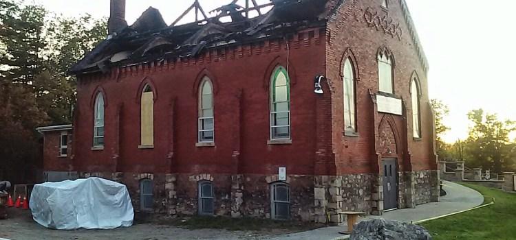 Trinity Church fire