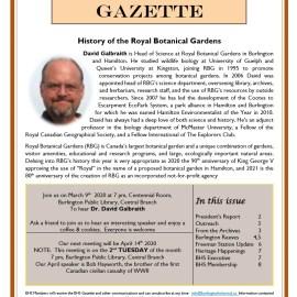 March 2020 Gazette
