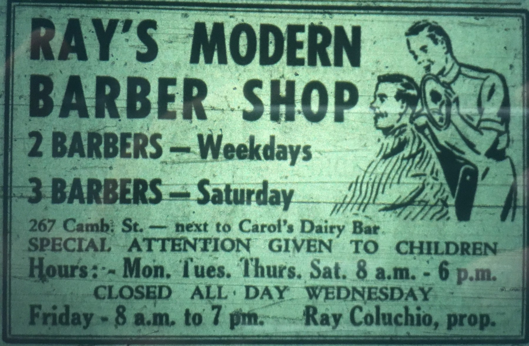 Ray's Barber Shop Burlington MA