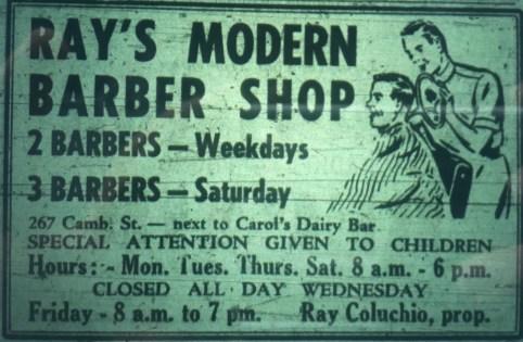 Ray's Barber Shop Burlington MA