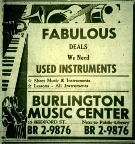 Burlington Music Center