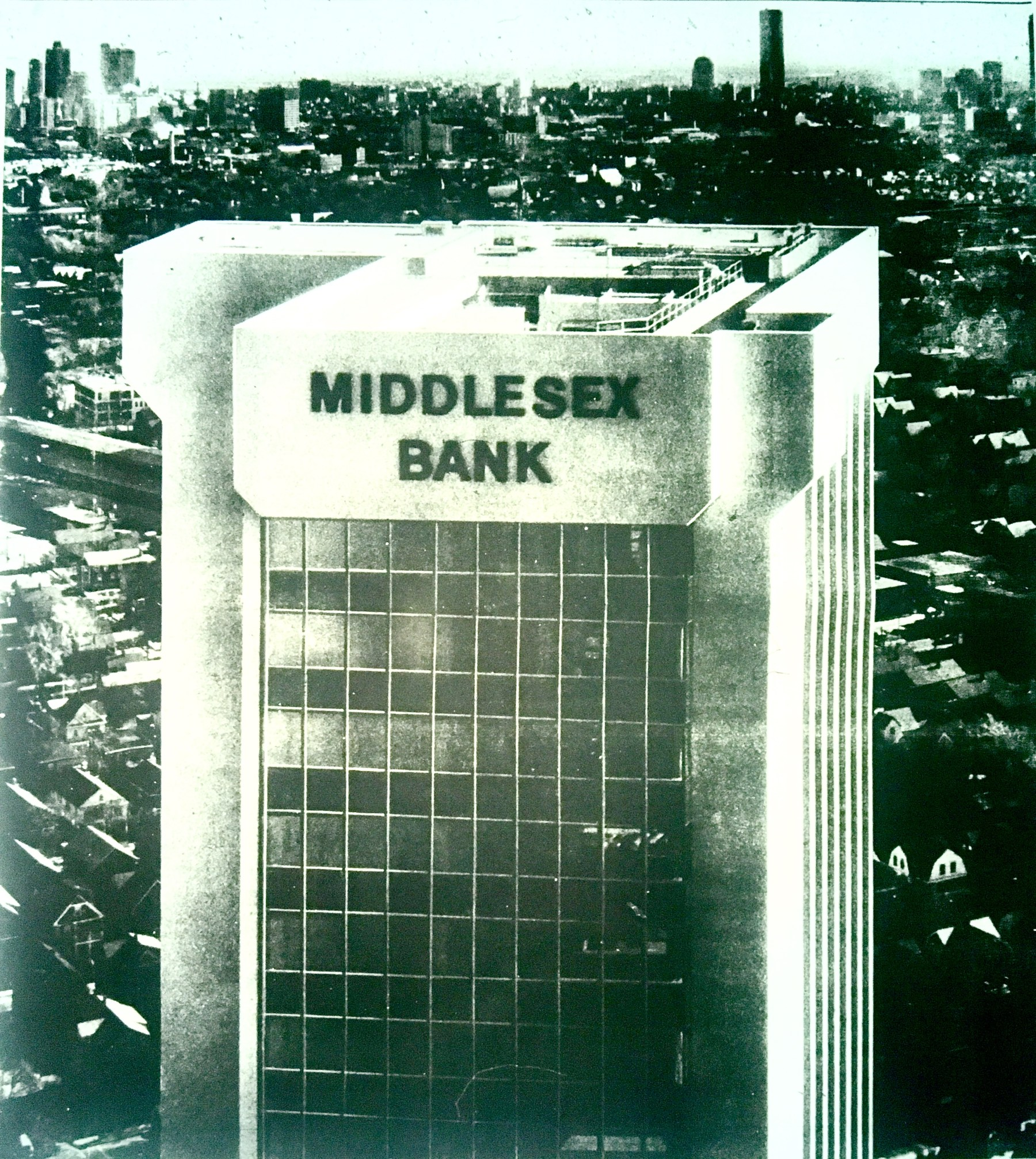 Middlesex Bank with Boston behind