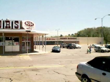 Busa Liquors and Filene' Basement, Burlington MA