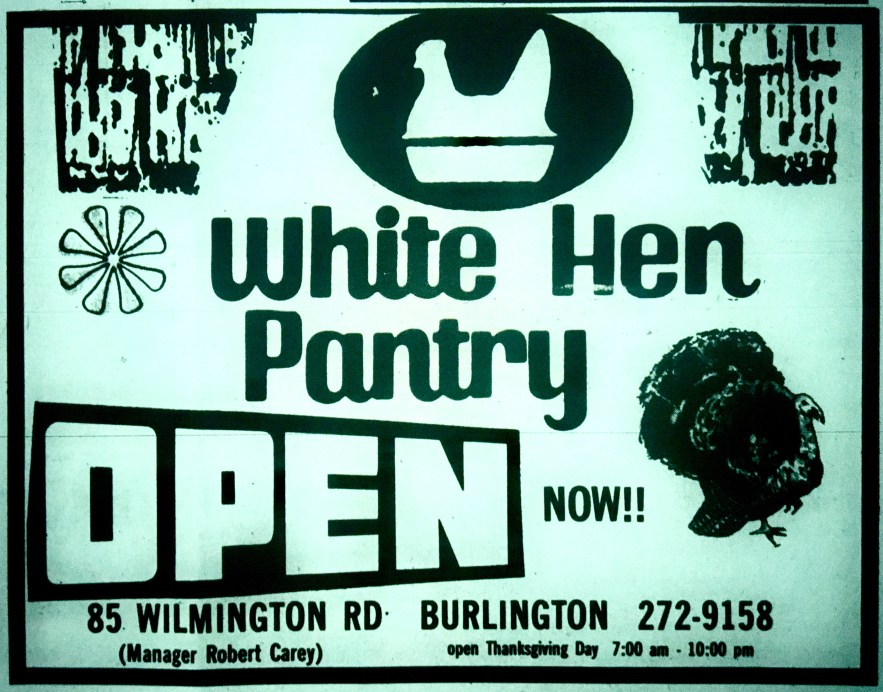 White Hen Pantry grand opening, Burlington MA
