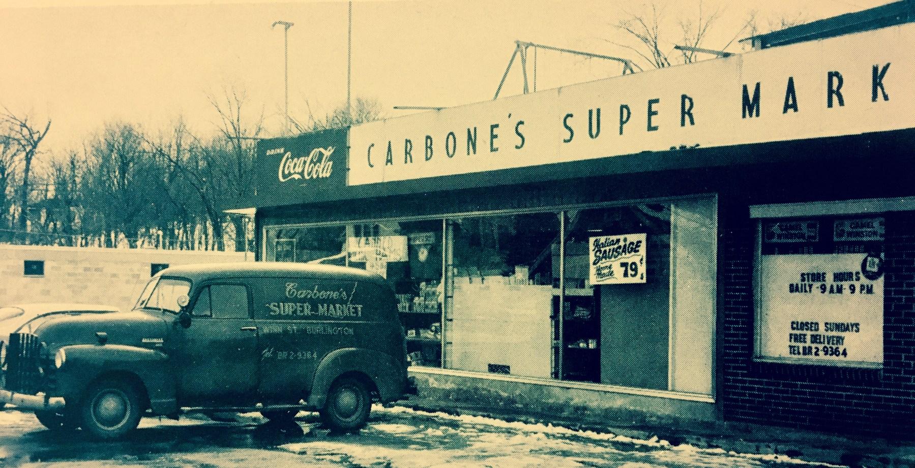 Carbone's Super Market Burlington MA