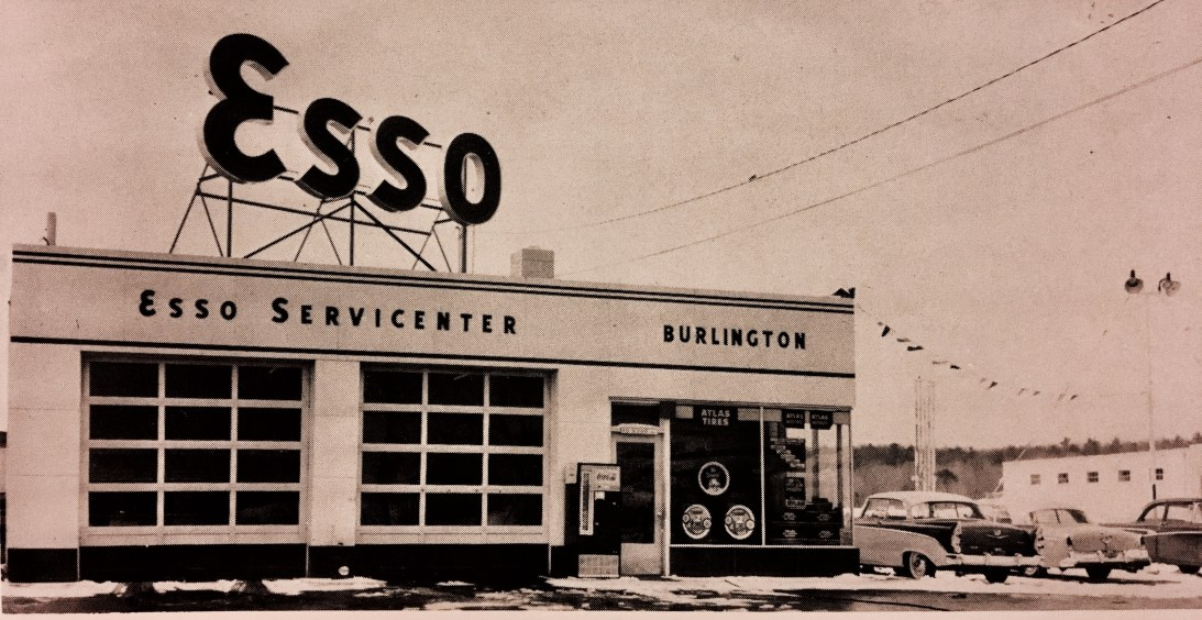 Esso station Burlington MA