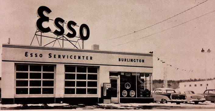 Esso station Burlington MA