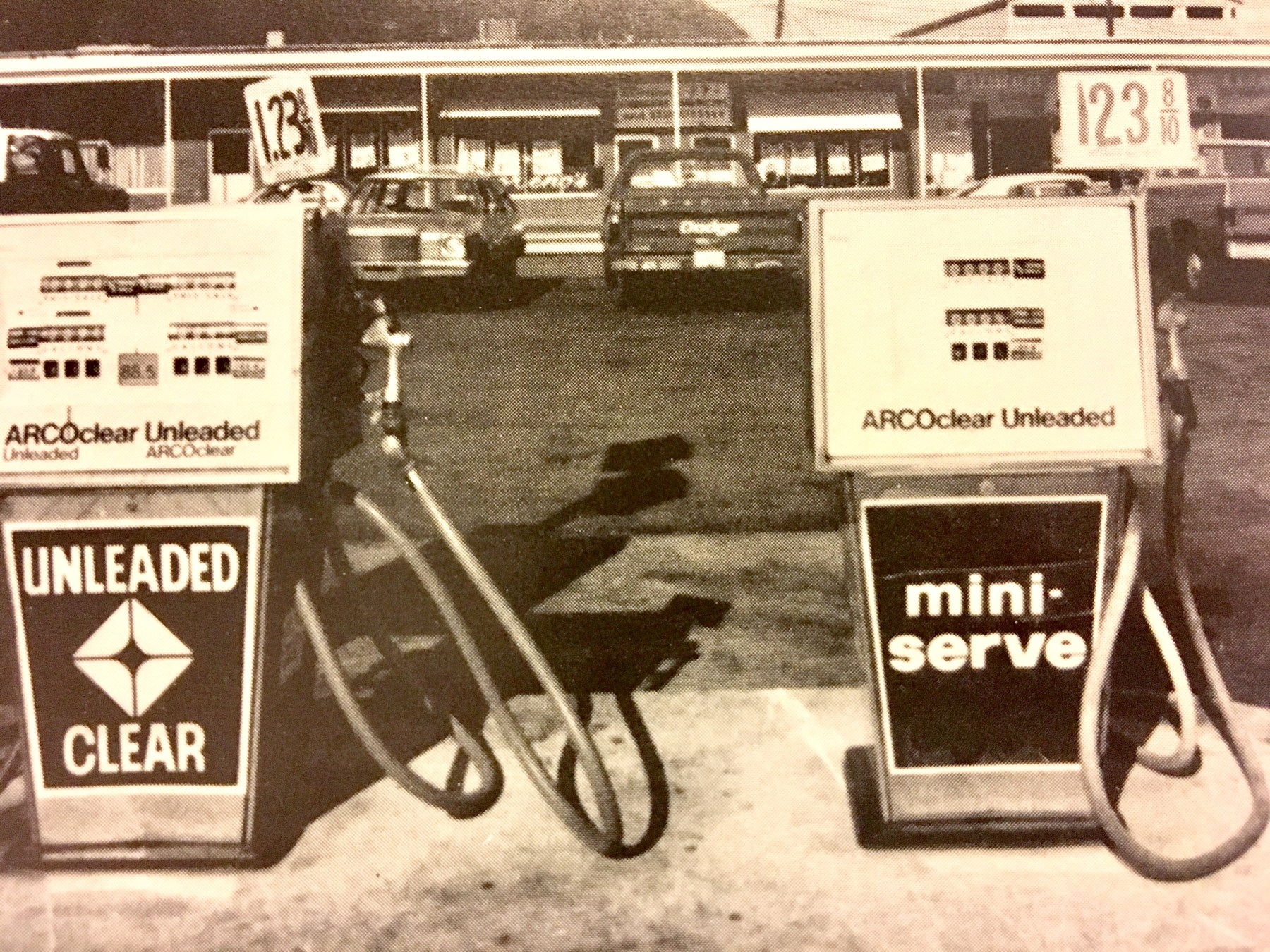 Arco gas station, Burlington, MA early 1970s