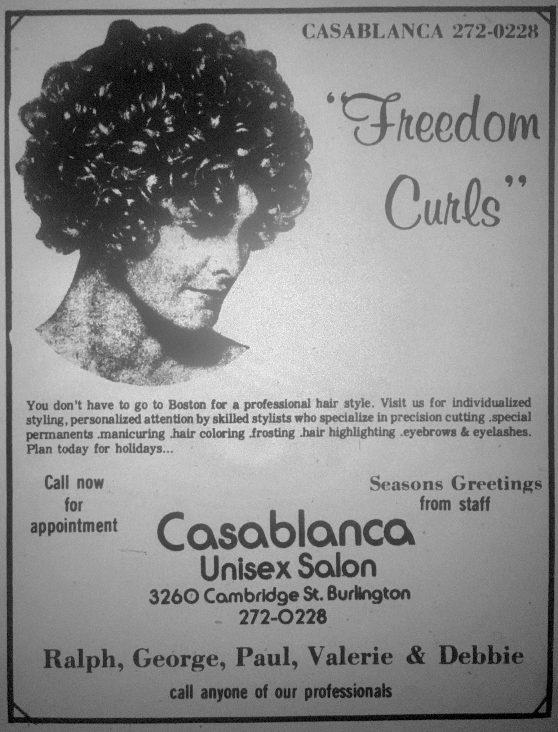 Casablanca Unisex Hair Salon Burlington MA