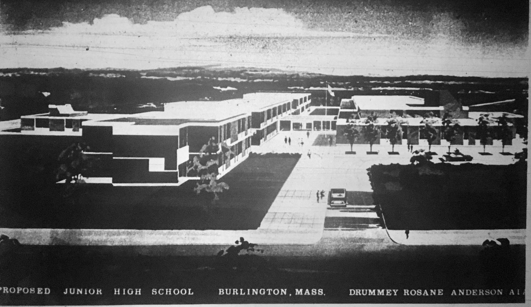 Francis Wyman School rendering