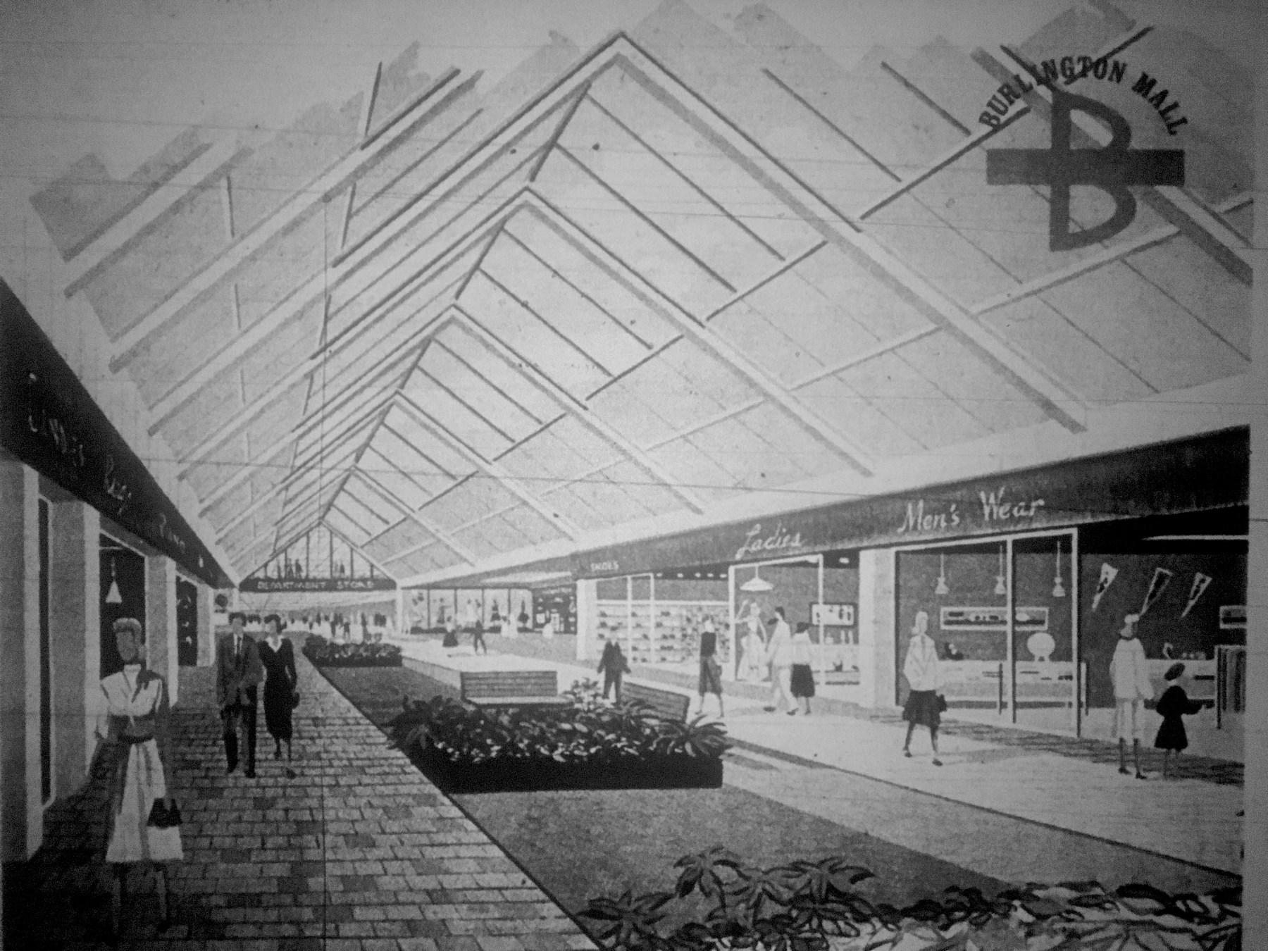 Burlington Mall artist concept