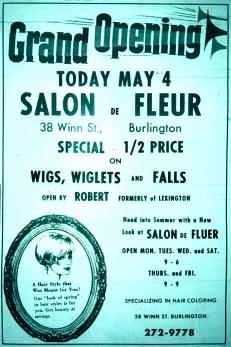 Salon De Fleur grand opening Burlington MA