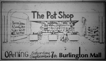 Pot shop, Burlington Mall