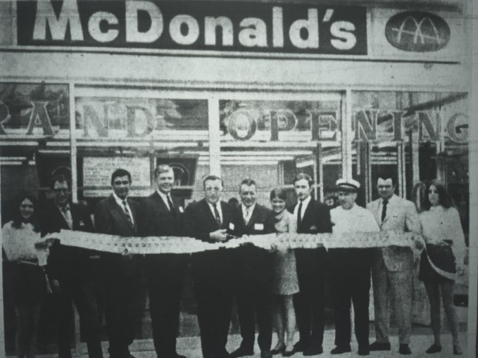 McDonald's grand opening Burlington MA