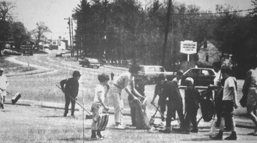 Burlington cleanup day